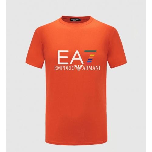 Armani T-Shirts Short Sleeved For Men #855213