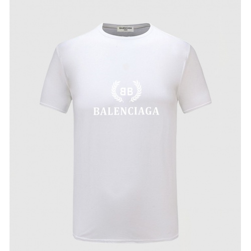 Balenciaga T-Shirts Short Sleeved For Men #855216