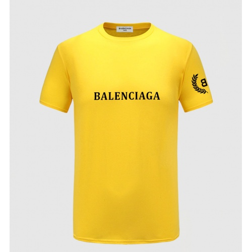 Balenciaga T-Shirts Short Sleeved For Men #855224