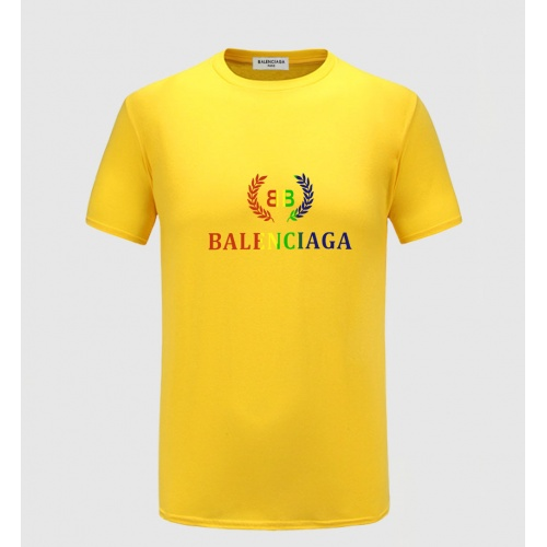 Balenciaga T-Shirts Short Sleeved For Men #855243