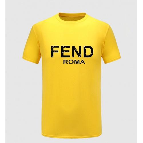 Fendi T-Shirts Short Sleeved For Men #855284
