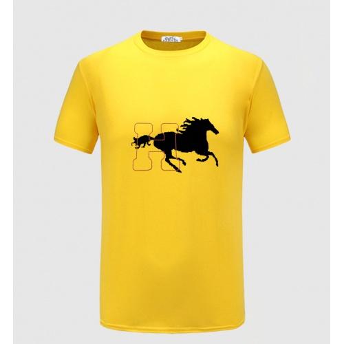 Hermes T-Shirts Short Sleeved For Men #855352