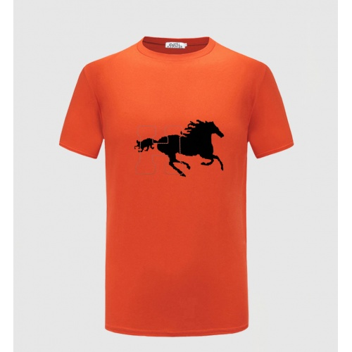 Hermes T-Shirts Short Sleeved For Men #855355