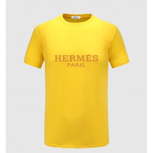 Hermes T-Shirts Short Sleeved For Men #855366