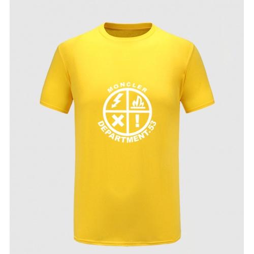 Moncler T-Shirts Short Sleeved For Men #855401