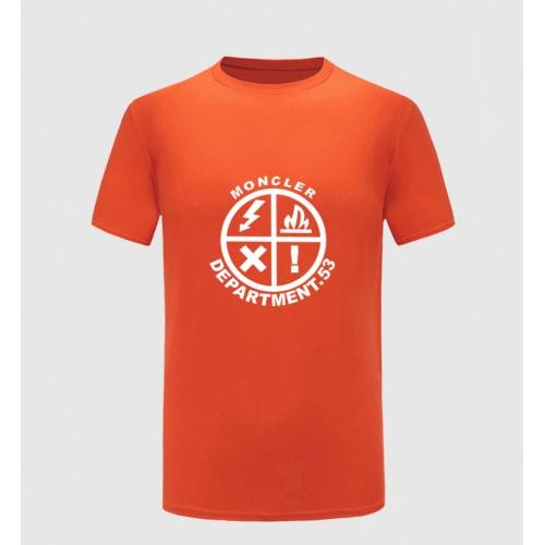 Moncler T-Shirts Short Sleeved For Men #855404