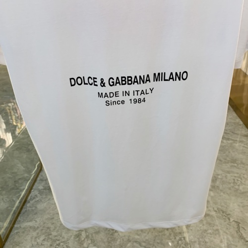 Replica Dolce & Gabbana D&G T-Shirts Short Sleeved For Men #855448 $41.00 USD for Wholesale