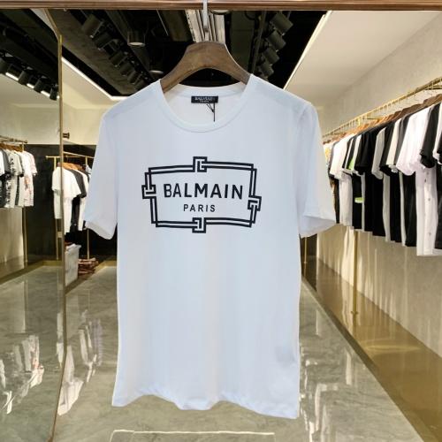Balmain T-Shirts Short Sleeved For Men #855461