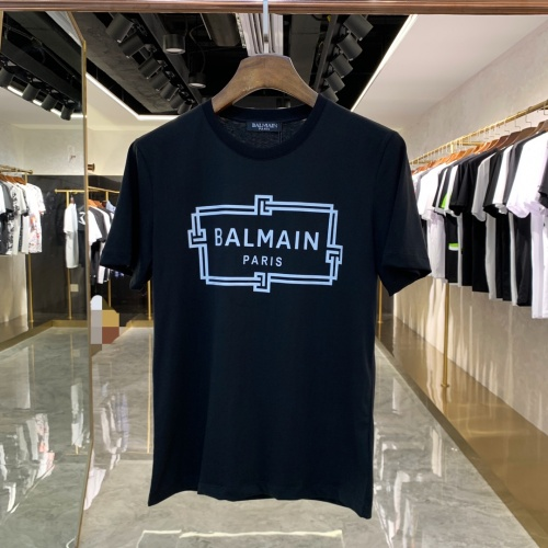 Balmain T-Shirts Short Sleeved For Men #855462
