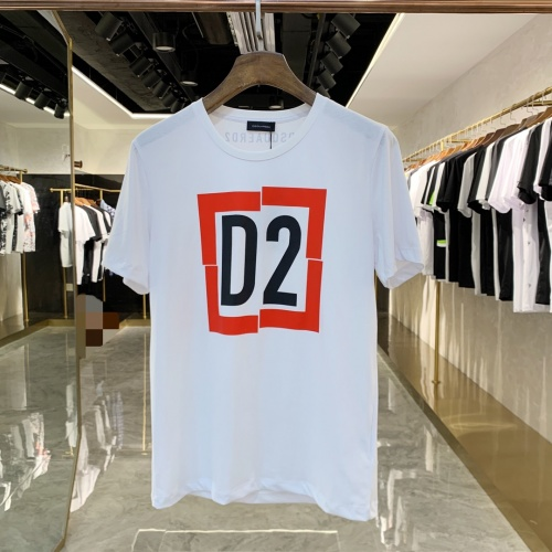 Dsquared T-Shirts Short Sleeved For Men #855463