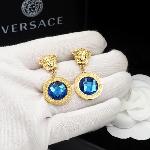 Replica Versace Earrings For Women #855493 $27.00 USD for Wholesale