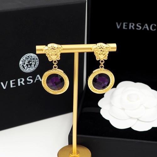 Replica Versace Earrings For Women #855494 $27.00 USD for Wholesale