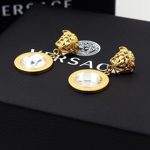 Replica Versace Earrings For Women #855498 $27.00 USD for Wholesale