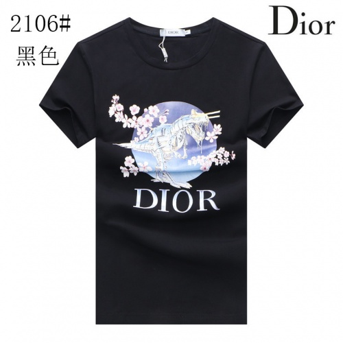 Christian Dior T-Shirts Short Sleeved For Men #855547