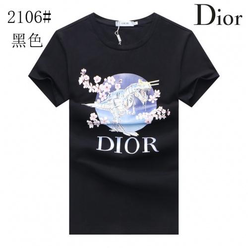 Christian Dior T-Shirts Short Sleeved For Men #855547