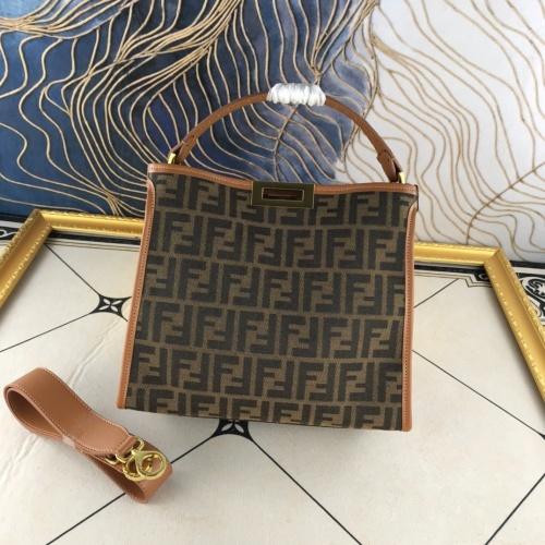 Fendi AAA Quality Handbags For Women #855578