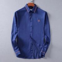 $42.00 USD Hermes Shirts Long Sleeved For Men #842488