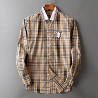 $42.00 USD Burberry Shirts Long Sleeved For Men #842515