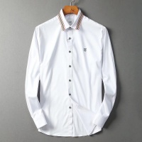 $42.00 USD Burberry Shirts Long Sleeved For Men #842553
