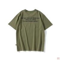 $27.00 USD Bape T-Shirts Short Sleeved For Men #843048