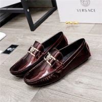 $68.00 USD Versace Leather Shoes For Men #844189