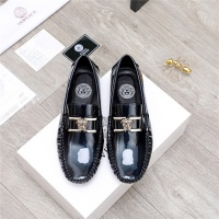 $68.00 USD Versace Leather Shoes For Men #844190