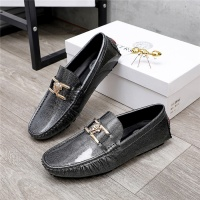 $68.00 USD Versace Leather Shoes For Men #844191