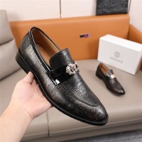 $96.00 USD Versace Leather Shoes For Men #845416