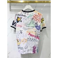 $41.00 USD Dolce & Gabbana D&G T-Shirts Short Sleeved For Men #849578