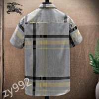 $34.00 USD Burberry Shirts Short Sleeved For Men #849801