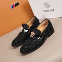 $92.00 USD Versace Leather Shoes For Men #851938