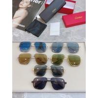 $58.00 USD Cartier AAA Quality Sunglasses #852554