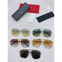 $60.00 USD Cartier AAA Quality Sunglasses #854454