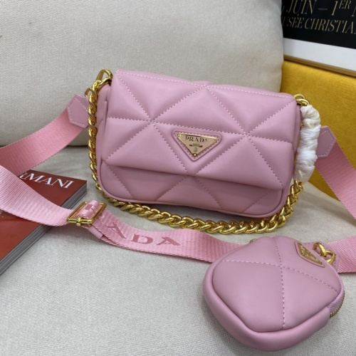 Prada AAA Quality Messeger Bags For Women #855689 $92.00 USD, Wholesale Replica Prada AAA Quality Messeger Bags
