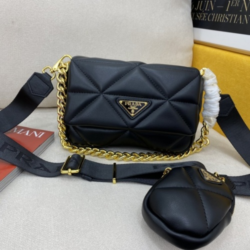 Prada AAA Quality Messeger Bags For Women #855690