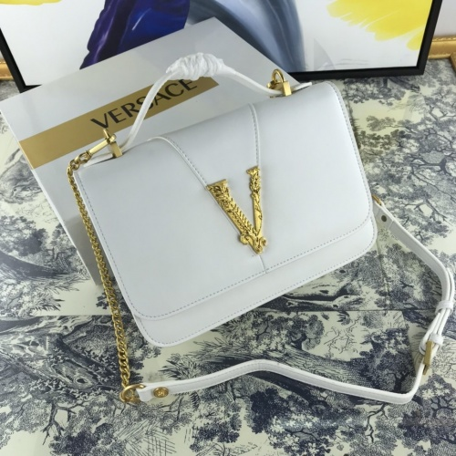 Versace AAA Quality Messenger Bags For Women #855694 $135.00 USD, Wholesale Replica Versace AAA Quality Messenger Bags