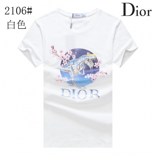Christian Dior T-Shirts Short Sleeved For Men #855750