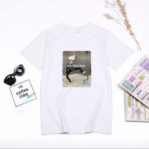Balenciaga T-Shirts Short Sleeved For Men #855757