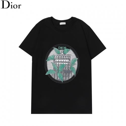 Christian Dior T-Shirts Short Sleeved For Men #855798