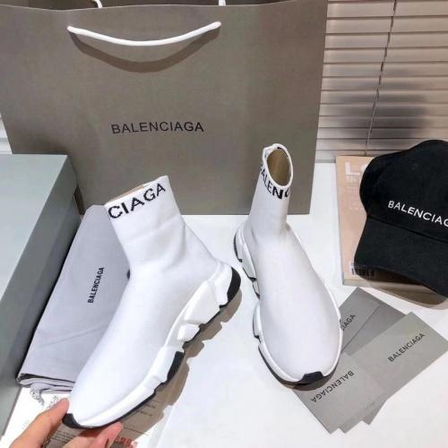 Replica Balenciaga Boots For Women #855804 $76.00 USD for Wholesale