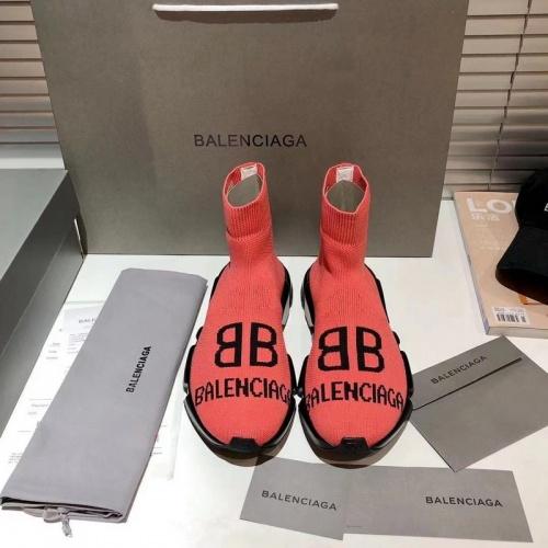 Replica Balenciaga Boots For Women #855812 $76.00 USD for Wholesale