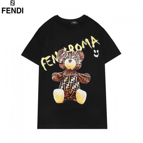 Fendi T-Shirts Short Sleeved For Men #855833