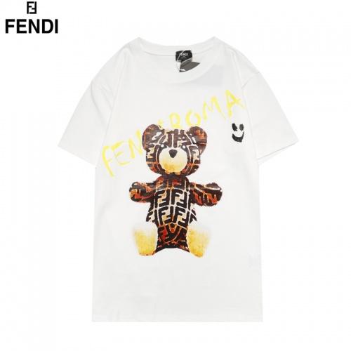 Fendi T-Shirts Short Sleeved For Men #855834