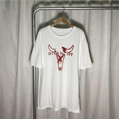 Givenchy T-Shirts Short Sleeved For Men #855837 $29.00 USD, Wholesale Replica Givenchy T-Shirts