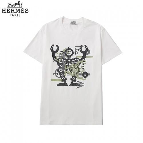 Hermes T-Shirts Short Sleeved For Men #855872