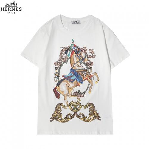 Hermes T-Shirts Short Sleeved For Men #855874