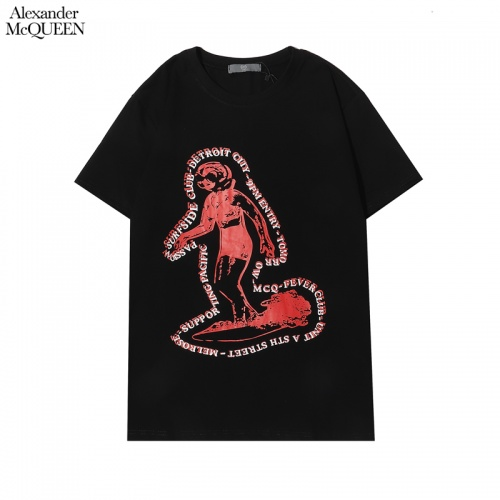 Alexander McQueen T-shirts Short Sleeved For Men #855926