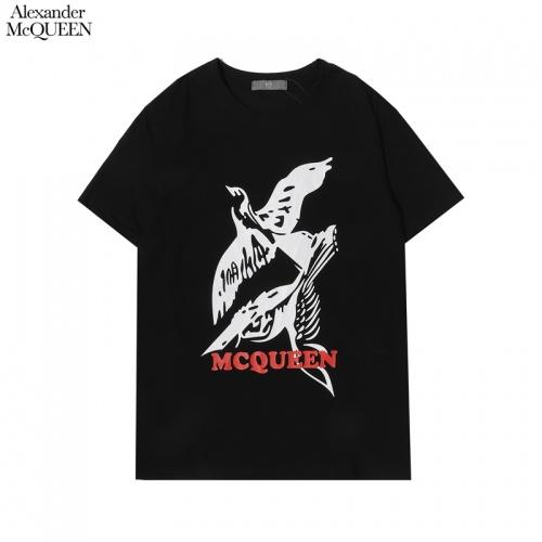 Alexander McQueen T-shirts Short Sleeved For Men #855929