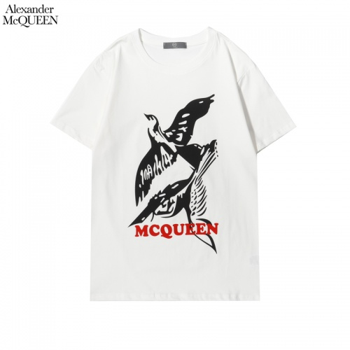 Alexander McQueen T-shirts Short Sleeved For Men #855930