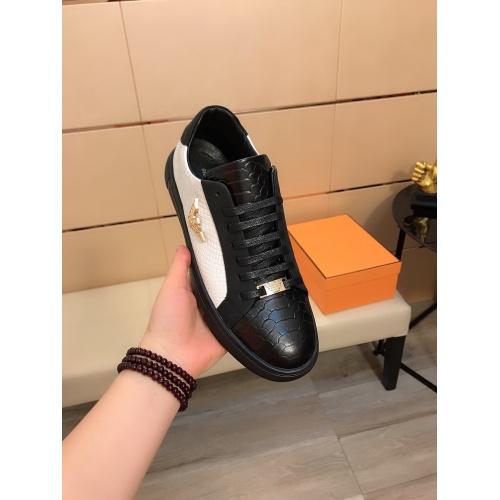 Replica Armani Casual Shoes For Men #855936 $80.00 USD for Wholesale
